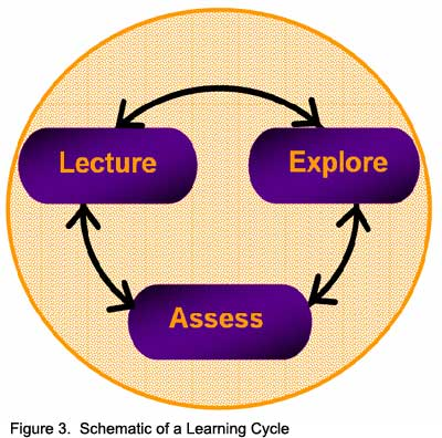 Figure 3.  Schematic of a Learning Cycle